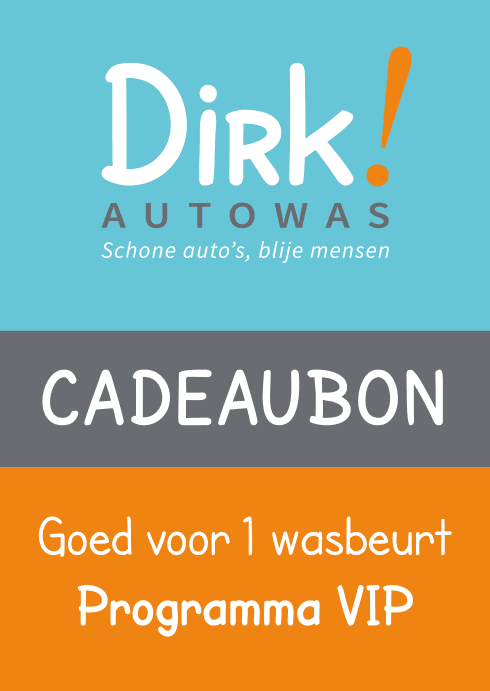 Dirk autowas VIP wasbon